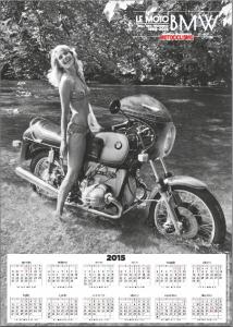 Il poster-calendario nel primo numero